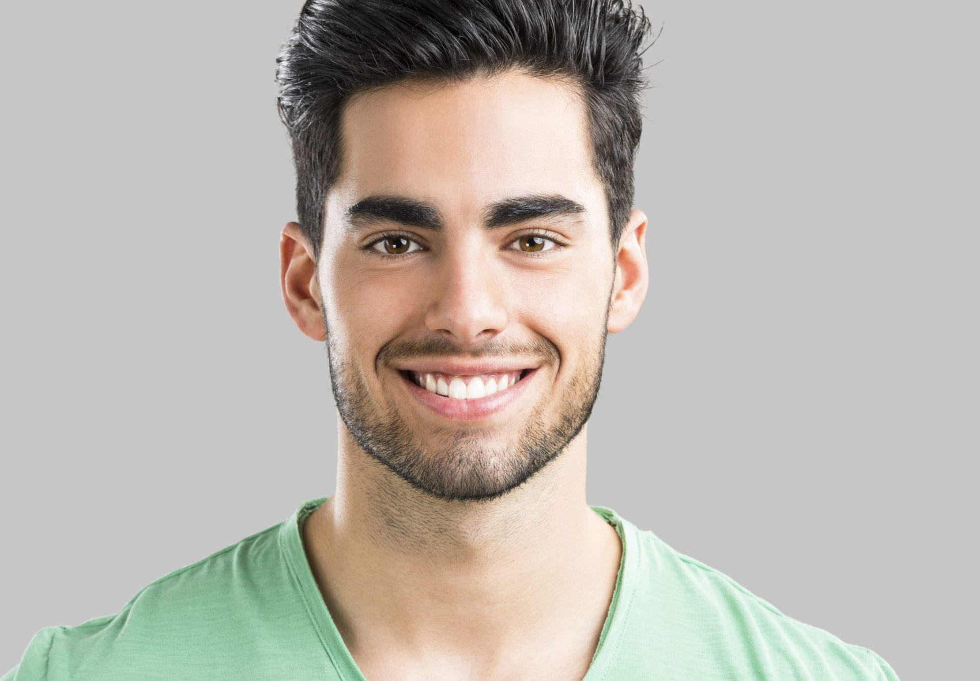 A man that saw a cosmetic dentist in Fort Mill, SC